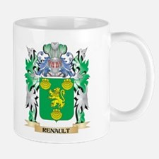 Renault Coat of Arms - Family Crest Mugs
