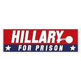 Hillary for prison 2016 vinyl 50 Pack