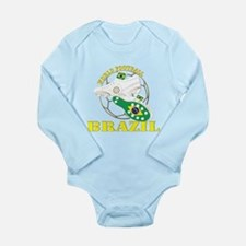 Brazil world football soccer Body Suit