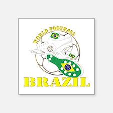Brazil world football soccer Sticker