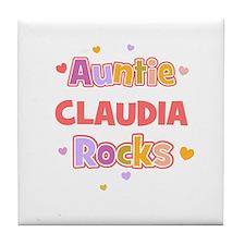 Claudia  Tile Coaster