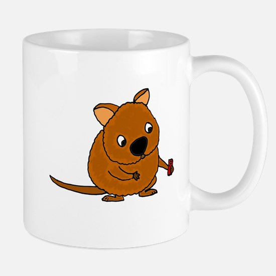 Quokka Taking Selfie Mugs