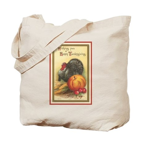 Double sided Thanksgiving Treats Tote Bag