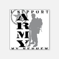 I Support Nephew 2 - ARMY Rectangle Sticker