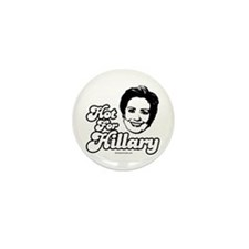 Hot for Hillary Mini Button (10 pack)