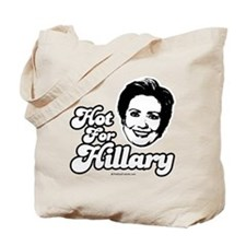 Hot for Hillary Tote Bag