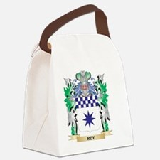 Rey Coat of Arms - Family Crest Canvas Lunch Bag