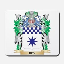 Rey Coat of Arms - Family Crest Mousepad