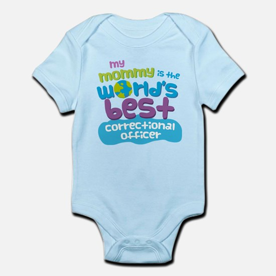 Correctional Officer Gift for Kids Infant Bodysuit