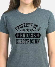 Property of a Badass Electri T-Shirt