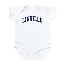 LINVILLE design (blue) Infant Bodysuit