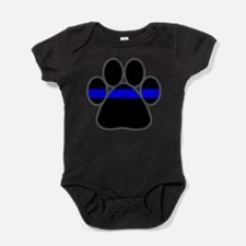 Unique K9 officer Baby Bodysuit