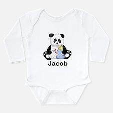 Jacob's Little Panda Long Sleeve Infant Bodysuit