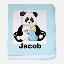 Jacob's Little Panda baby blanket