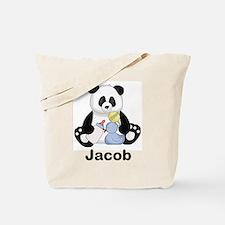 Jacob's Little Panda Tote Bag