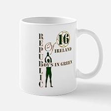 Republic of Ireland boy's in green 2016 Mugs