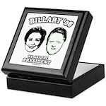 Billary 08: We are the President Keepsake Box