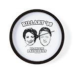 Billary 08: We are the President Wall Clock