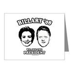 Billary 08: We are the President Note Cards (Pk of