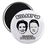 Billary 08: We are the President Magnet