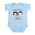 Billary 08: We are the President Infant Bodysuit