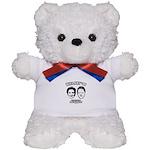 Billary 08: We are the President Teddy Bear