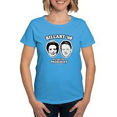 Billary 08: We are the President Women's Dark T-Sh