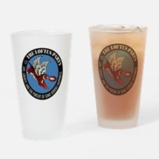 Liberty Flying Tiger Drinking Glass