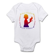 Protect Children Rights Infant Bodysuit