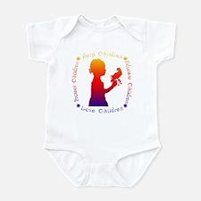 Protect Children Rights Infant Bodysuit