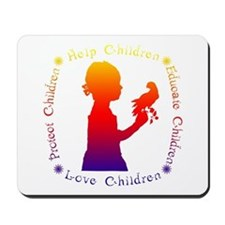 Protect Children Rights Mousepad