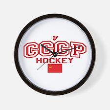 CCCP Soviet Hockey S Wall Clock