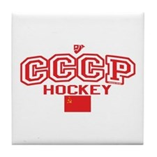 CCCP Soviet Hockey S Tile Coaster