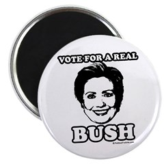 Vote for a real bush: Hillary 2008 2.25