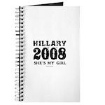 Hillary 2008: She's my girl Journal