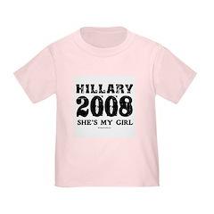 Hillary 2008: She's my girl T