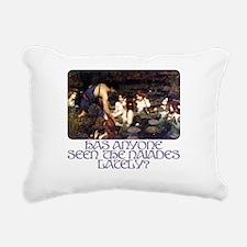 Naiades Rectangular Canvas Pillow