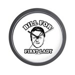 Bill for First Lady Wall Clock