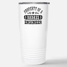Funny Belongs Thermos Mug