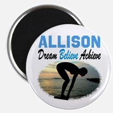 "PERSONALIZE SWIMMER 2.25"" Magnet (100 pack)"