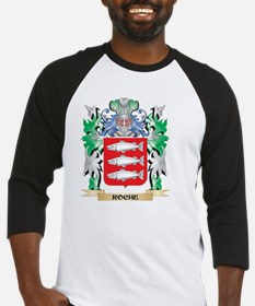 Roche Coat of Arms - Family Crest Baseball Jersey