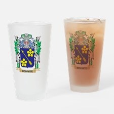 Rodarte Coat of Arms - Family Crest Drinking Glass