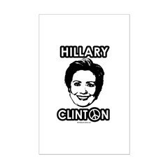 Hillary Clinton for Peace Posters