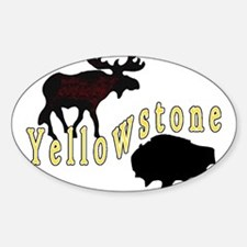 Bison Moose Yellowstone Decal