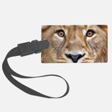 Realistic Lion Painting Luggage Tag