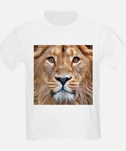 Realistic Lion Painting T-Shirt