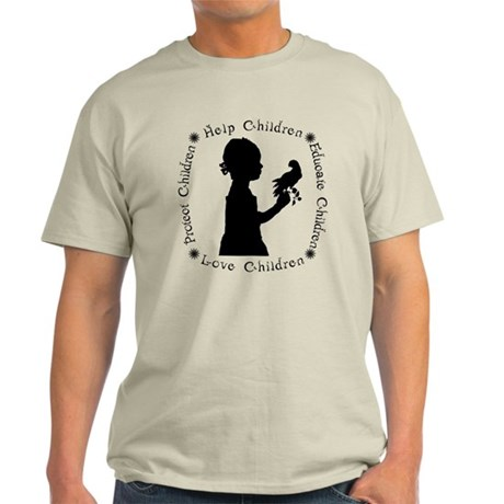 Protect Children Rights Light T-Shirt