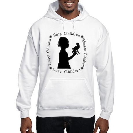 Protect Children Rights Hooded Sweatshirt