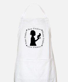 Protect Children Rights BBQ Apron