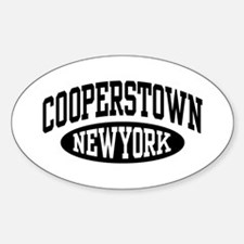 Cooperstown New York Decal